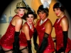 Burlesque dancers at The Edison