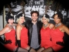 Flapper dancers with Boardwalk Empire actor
